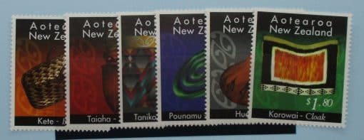New Zealand Stamps, 1996, SG1952-1957, Mint 3