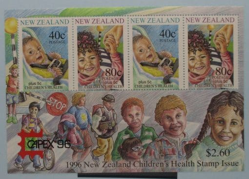 New Zealand Stamps, 1996, MS2004, Mint 3