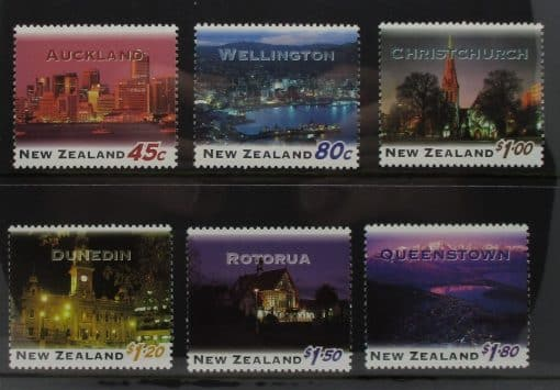 New Zealand Stamps, 1995, SG1855-1860, Mint 3