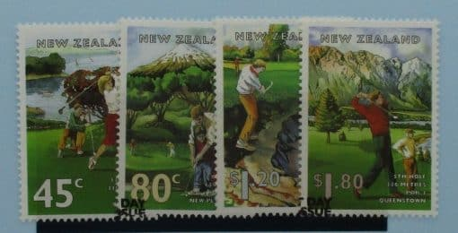 New Zealand Stamps, 1995, SG1861-1864, Used 3