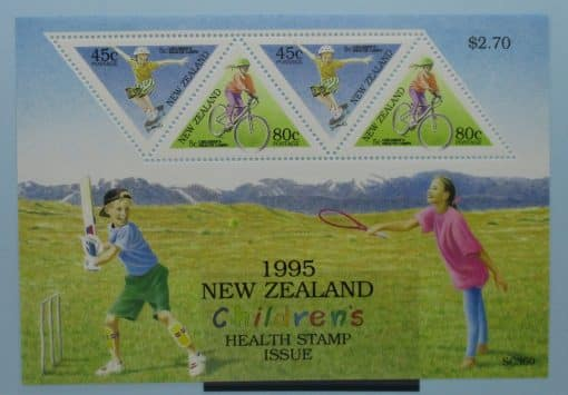 New Zealand Stamps, 1995, MS1886, Mint 3