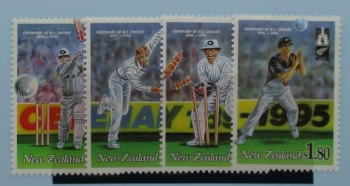 New Zealand Stamps, 1994, SG1850-1853, Mint 3