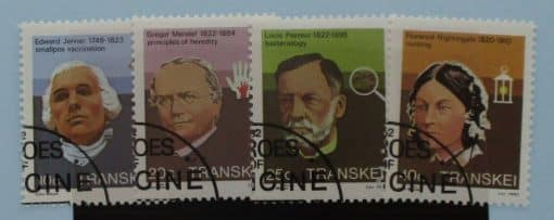 Transkei Stamps, 1983, SG125-128, Used 2