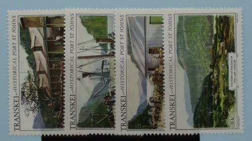 Transkei Stamps, 1986, SG180-183, Mint 3