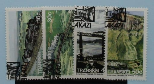 Transkei Stamps, 1989, SG229-232, Used 3