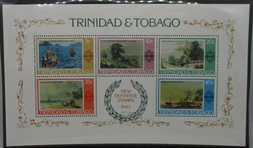 Trinidad and Tobago Stamps, 1976, MS497, Mint 3