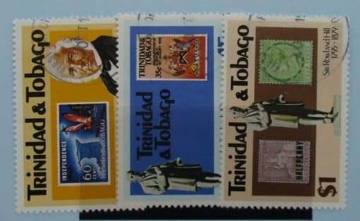 Trinidad and Tobago Stamps, 1979, SG551-553, Used 3