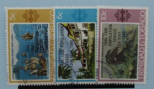 Trinidad and Tobago Stamps, 1980, SG560-562, Used 3