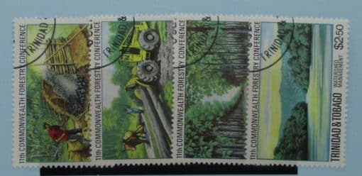 Trinidad and Tobago Stamps, 1980, SG572-575, Used 3