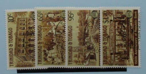 Trinidad and Tobago Stamps, 1987, SG728-731, Used 3