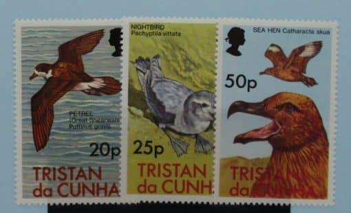 Tristan da Cunha Stamps, 1977, SG227-229, Mint 3