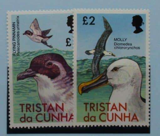 Tristan da Cunha Stamps, 1977, SG230-231, Mint 3