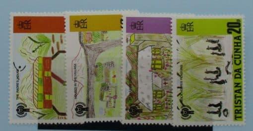 Tristan da Cunha Stamps, 1979, SG268-271, Mint 3