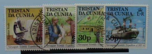 Tristan da Cunha Stamps, 1987, SG434-437, Used 3