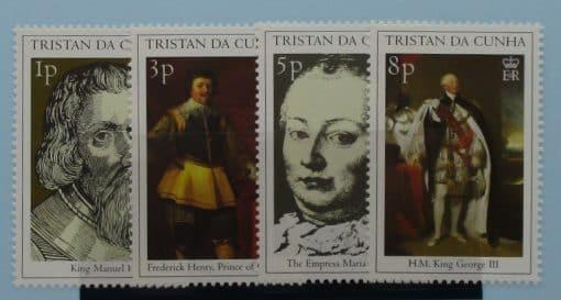 Tristan da Cunha Stamps, 2000, SG666-669, Mint 3