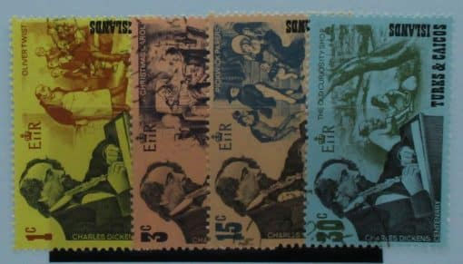 Turks and Caicos Islands Stamps, 1970, SG321-324, Used 3