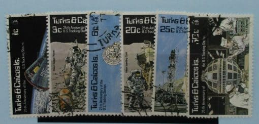 Turks and Caicos Islands Stamps, 1977, SG476-481, Used 3