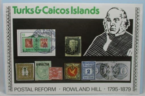 Turks and Caicos Islands Stamps, 1979, MS551, Used 3