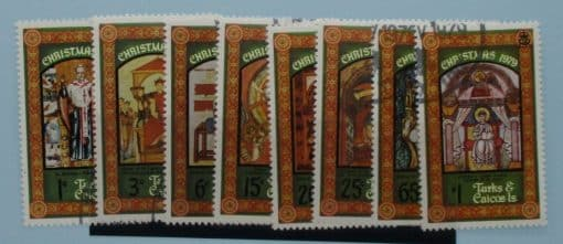 Turks and Caicos Islands Stamps, 1979, SG566-573, Used 3