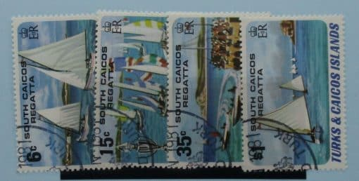 Turks and Caicos Islands Stamps, 1980, SG630-633, Used 3