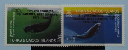 Turks and Caicos Islands Stamps, 1984, SG810-811, Mint 3