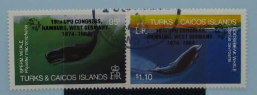 Turks and Caicos Islands Stamps, 1984, SG810-811, Used 3
