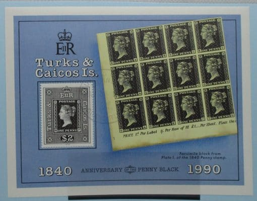 Turks and Caicos Islands Stamps, 1990, MS1040, Used 3
