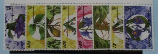 Turks and Caicos Islands Stamps, 1995, SG1278-1285, Mint 3