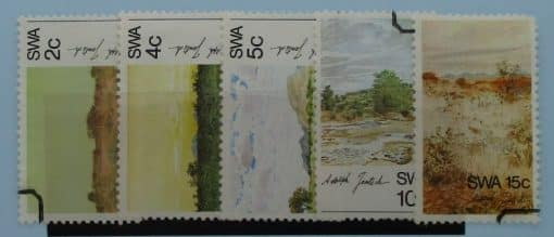 South West Africa Stamps, 1973, SG235-239, Used 3