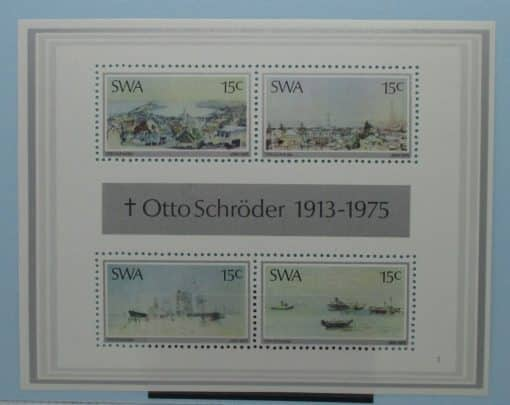 South West Africa Stamps, 1975, MS281, Mint 3