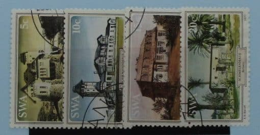 South West Africa Stamps, 1977, SG306-309, Used 3