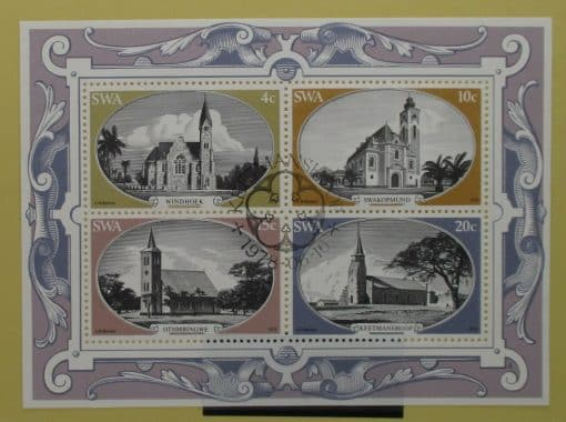South West Africa Stamps, 1978, MS323, Used 3