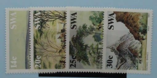 South West Africa Stamps, 1987, SG471-474, Mint 3