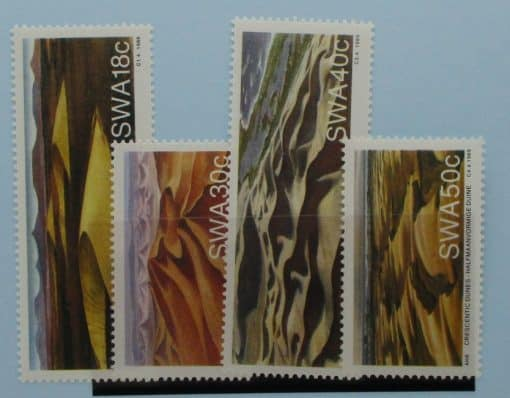 South West Africa Stamps, 1989, SG511-514, Mint 3