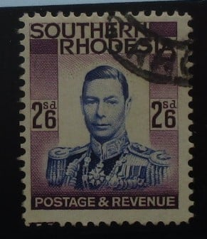 Southern Rhodesia Stamps, 1937, SG51, Used 2
