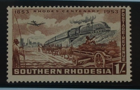 Southern Rhodesia Stamps, 1953, SG75, Mint 3