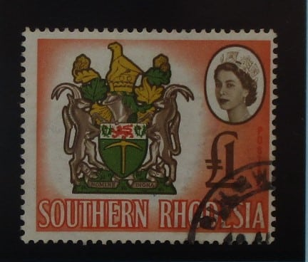 Southern Rhodesia Stamps, 1964, SG105, Used 2