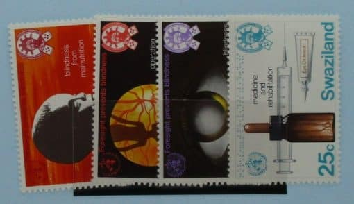Swaziland Stamps, 1976, SG251-254, Mint 3